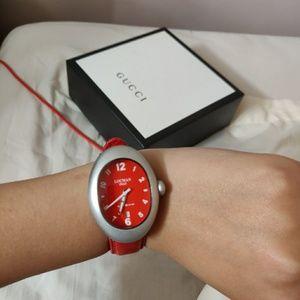 Vintage Locman Red Watch